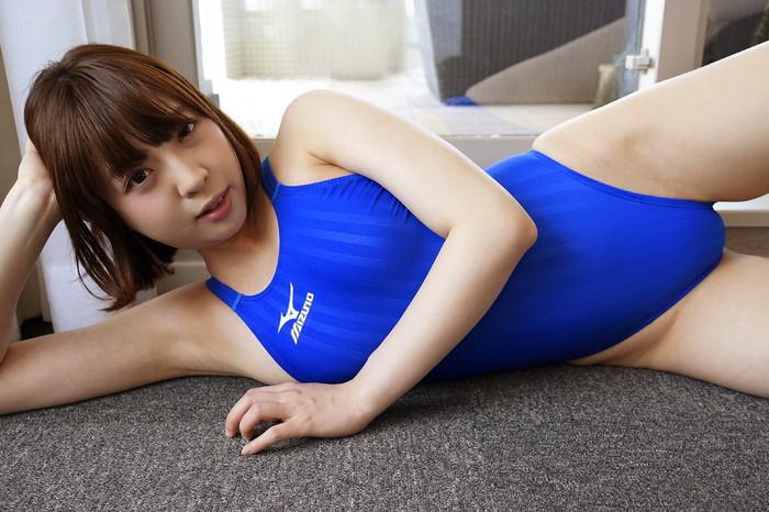 【競泳水着エロ画像】おまいら!競泳水着の女子が想像以上にエロいぞ!? 02