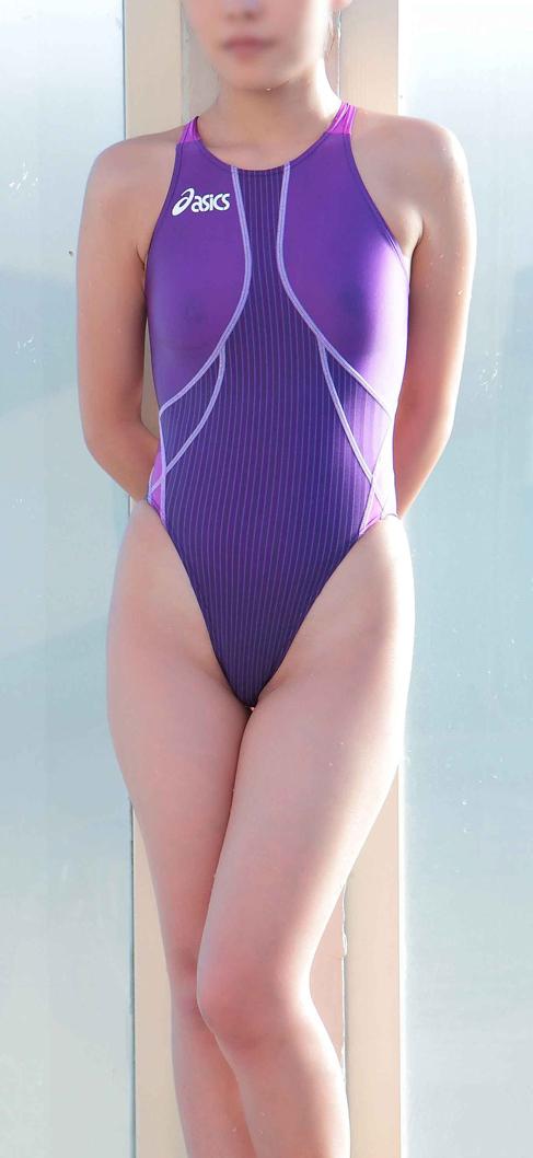 【競泳水着エロ画像】おまいら!競泳水着の女子が想像以上にエロいぞ!? 03
