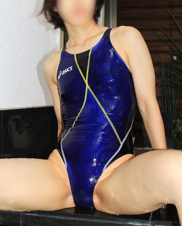 【競泳水着エロ画像】おまいら!競泳水着の女子が想像以上にエロいぞ!? 07