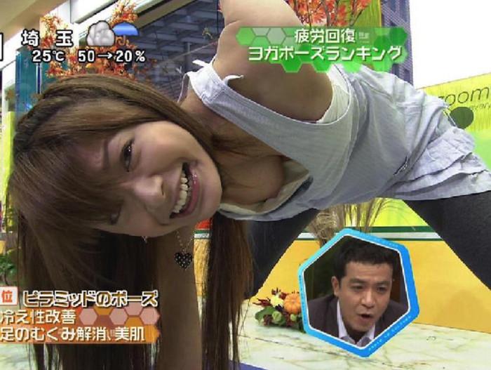 【放送事故エロ画像】テレビマンの策略か!?電波に乗せてしまったエロハプニング! 11