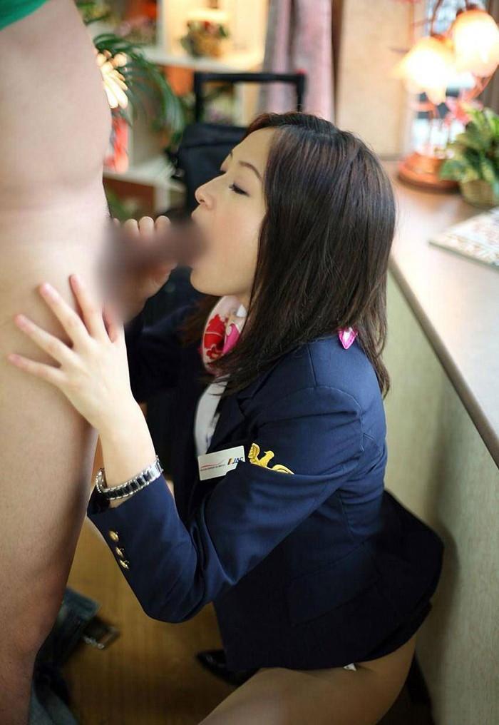 【職業コスプレエロ画像】様々な職業のコスプレでエロい姿を晒す女達! 20