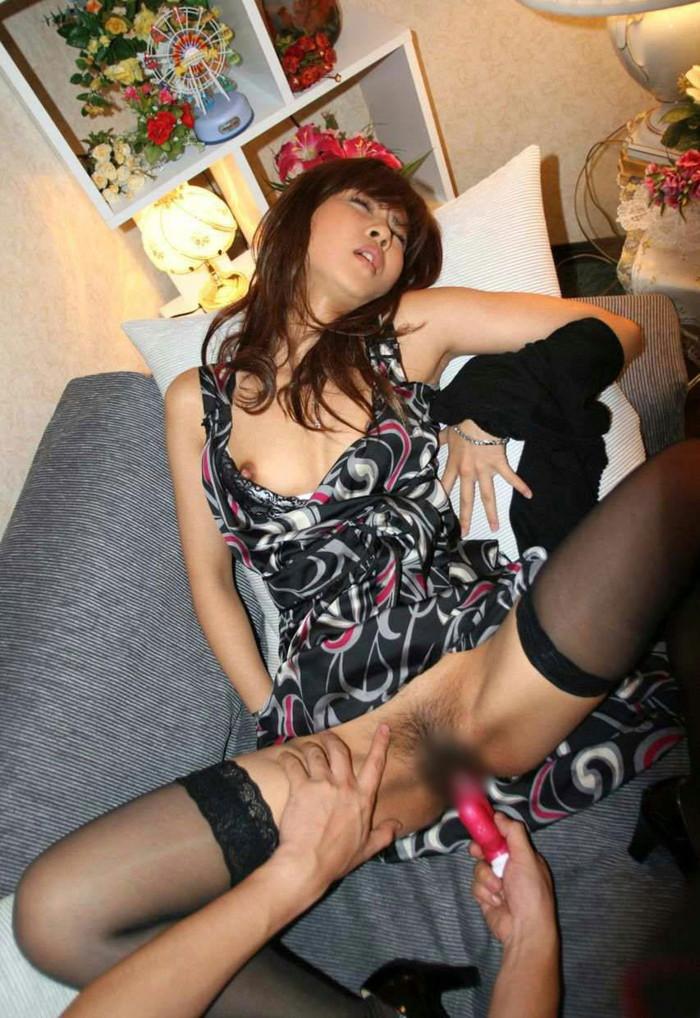 【バイブエロ画像】バイブ責め!バイブオナニー!快楽に悶える女達! 11