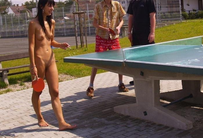 【全裸スポーツエロ画像】全裸でスポーツする女子だと!?見逃せないぜ! 02