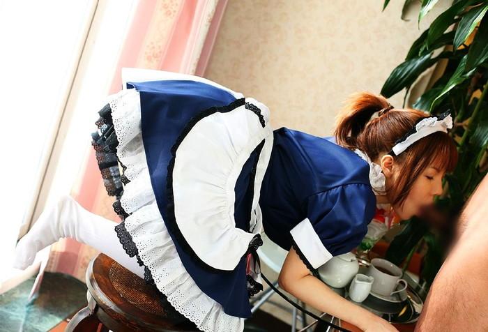 【メイドエロ画像】全てはご主人様の為!真心のこもった美少女メイドのご奉仕… 15