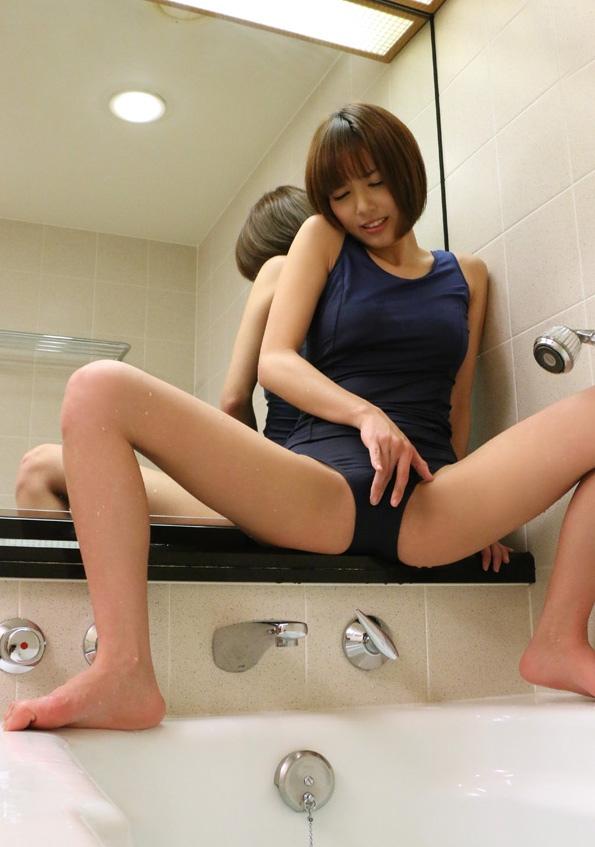 【スクール水着エロ画像】過激ではない!だがソコがイイ!スクール水着! 03