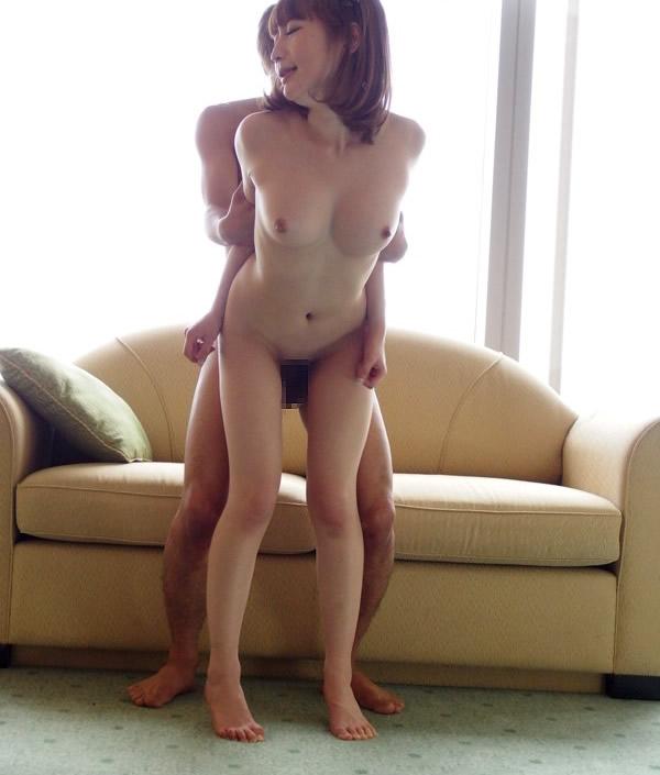 【立ちバックエロ画像】立ちバックというセックスの体位を様々な角度から見ようず!w 12