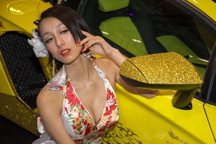 【キャンギャルエロ画像】オートサロンに咲く華!といえばやっぱりキャンギャル! 22