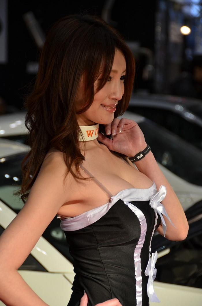 【キャンギャルエロ画像】オートサロンに咲く華!といえばやっぱりキャンギャル! 24