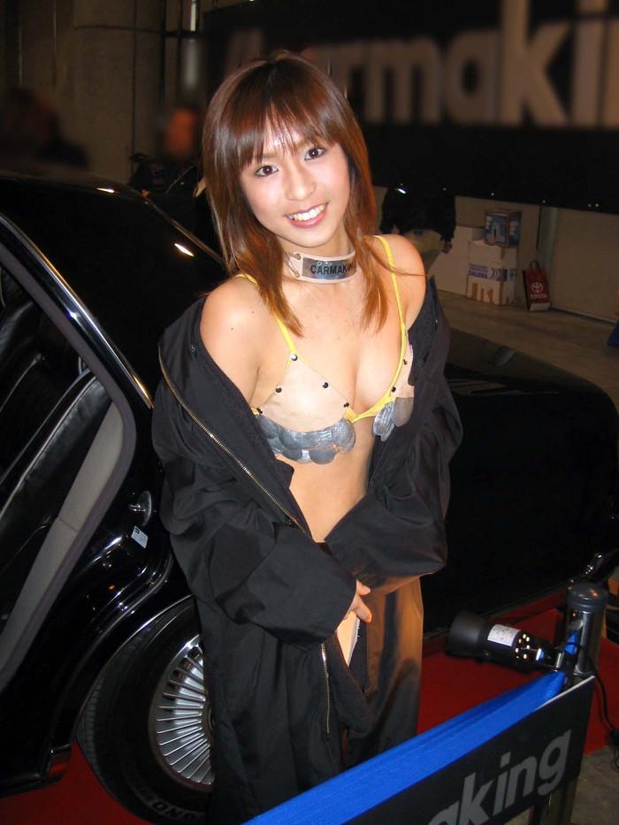 【キャンギャルエロ画像】オートサロンに咲く華!といえばやっぱりキャンギャル! 26