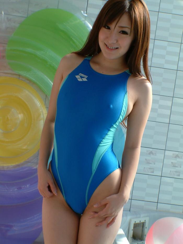 【競泳水着エロ画像】これが競泳水着だと!?なんだビキニよりエロいじゃないか!? 16