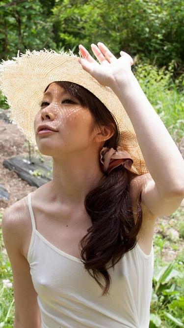 【着衣透けエロ画像】うす布一枚隔てた女の子の肌も良いものだ!と思える着衣透け! 23