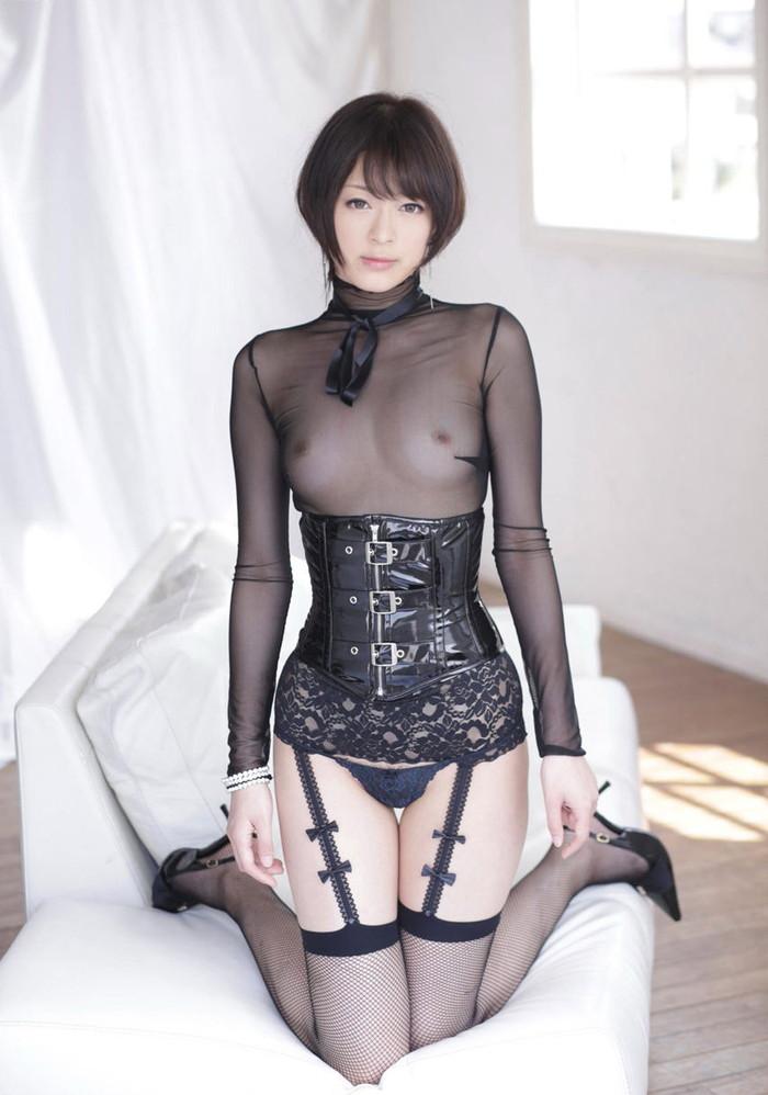 【着衣透けエロ画像】うす布一枚隔てた女の子の肌も良いものだ!と思える着衣透け! 29