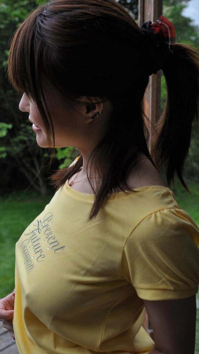 【着衣透けエロ画像】うす布一枚隔てた女の子の肌も良いものだ!と思える着衣透け! 31