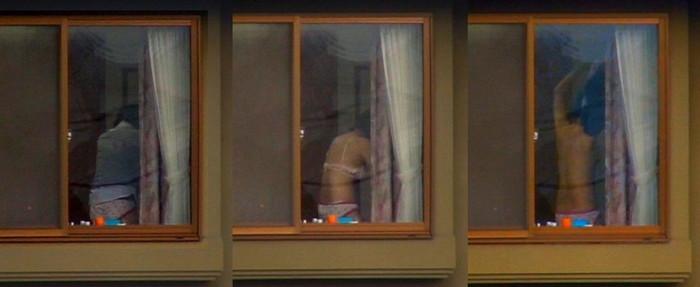 【民家盗撮エロ画像】無防備すぎるだろ!?自宅でうっかり盗撮魔の餌食になった女の子! 19