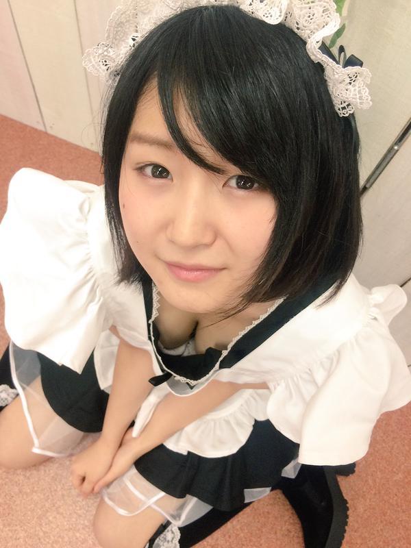 【浅田結梨エロ画像】現役の秋葉原のメイドがAVデビューしたってマジかよ!? 23