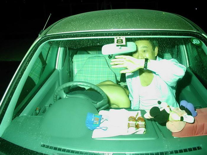 【カーセックス盗撮エロ画像】非常にリアル!これはガチだろ!?っていうカーセックス盗撮! 02