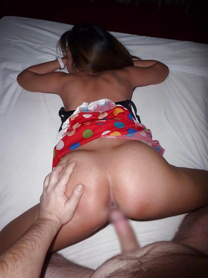 【タイ人女性エロ画像】タイ人の素人女性たちの卑猥なハメ撮りされちゃった画像? 34