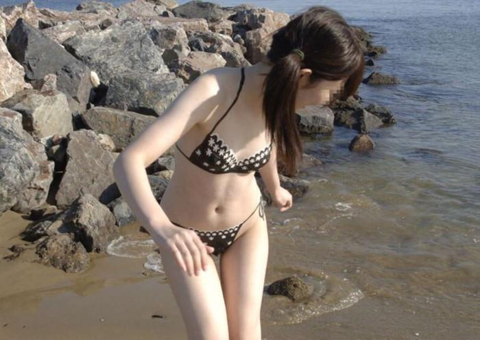 【ボディーペイントエロ画像】全裸ペイントという新しいスタイルの露出プレイ! 20