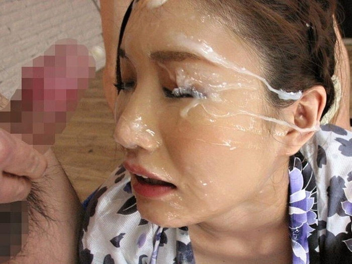 【顔射エロ画像】ほとばしる男汁で女の子のすました顔を征服せよ!www 09