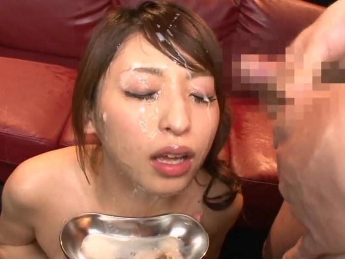 【顔射エロ画像】ほとばしる男汁で女の子のすました顔を征服せよ!www 21