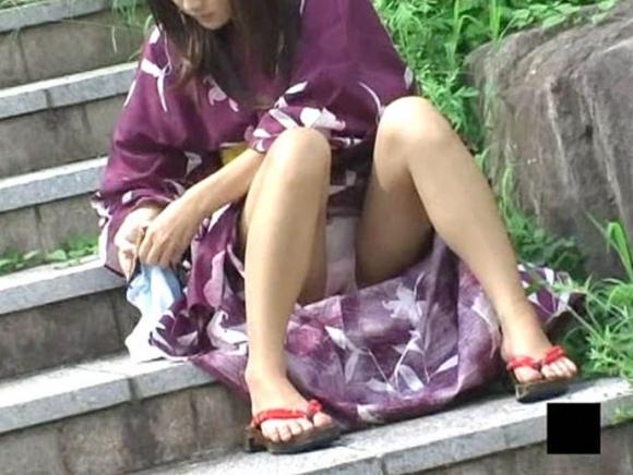 【浴衣エロ画像】夏の思い出、浴衣の女の子たちのエロ画像集めてみたwww 14