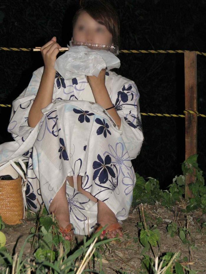 【浴衣エロ画像】夏の思い出、浴衣の女の子たちのエロ画像集めてみたwww 22