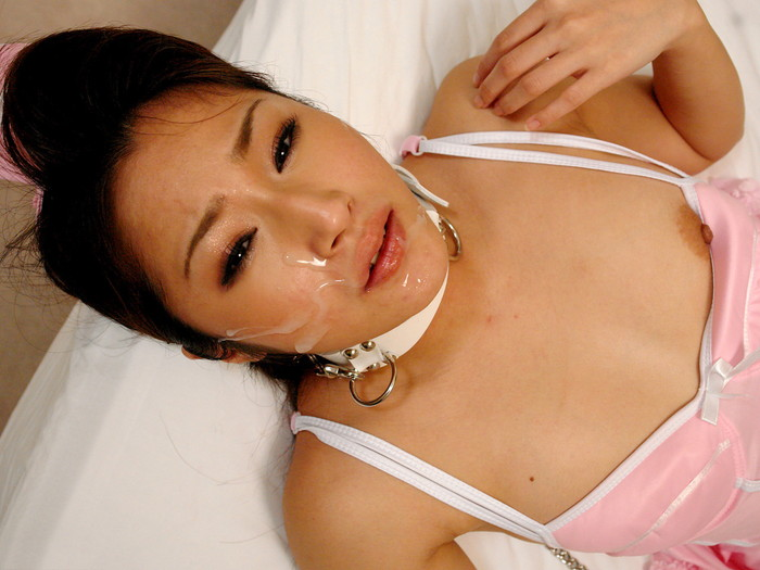 【顔射エロ画像】可愛い女の子の顔にたっぷりザーメンぶっかけたったww 06