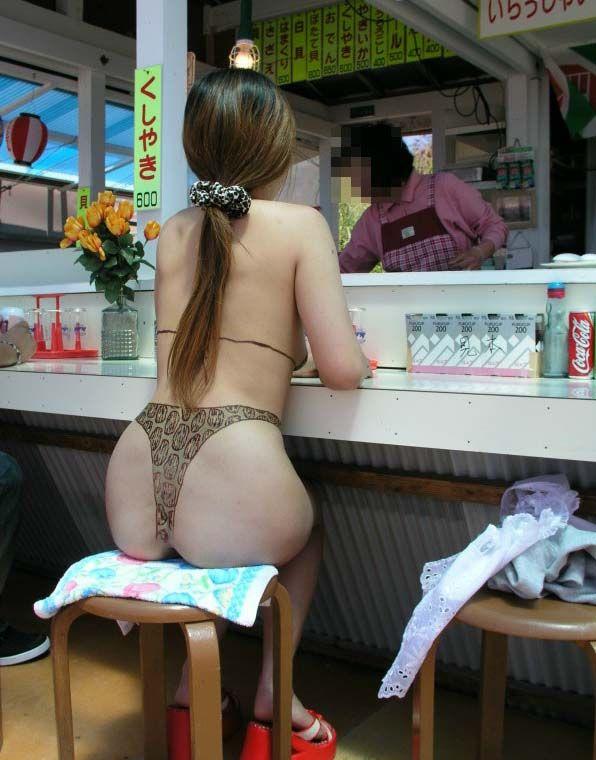 【ボディーペイントエロ画像】一見すると服着てるんだけど、これって全裸だよ!ってやつw 12