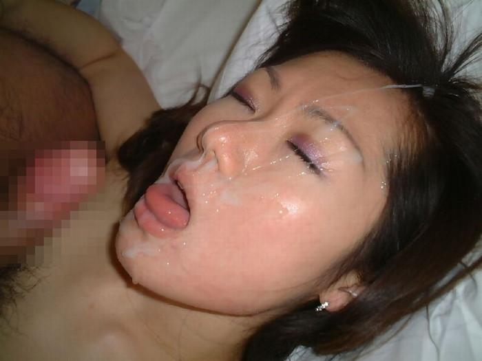 【顔射エロ画像】女の子の顔に濃厚なザーメンぶっかけたるぜ!wwww 04