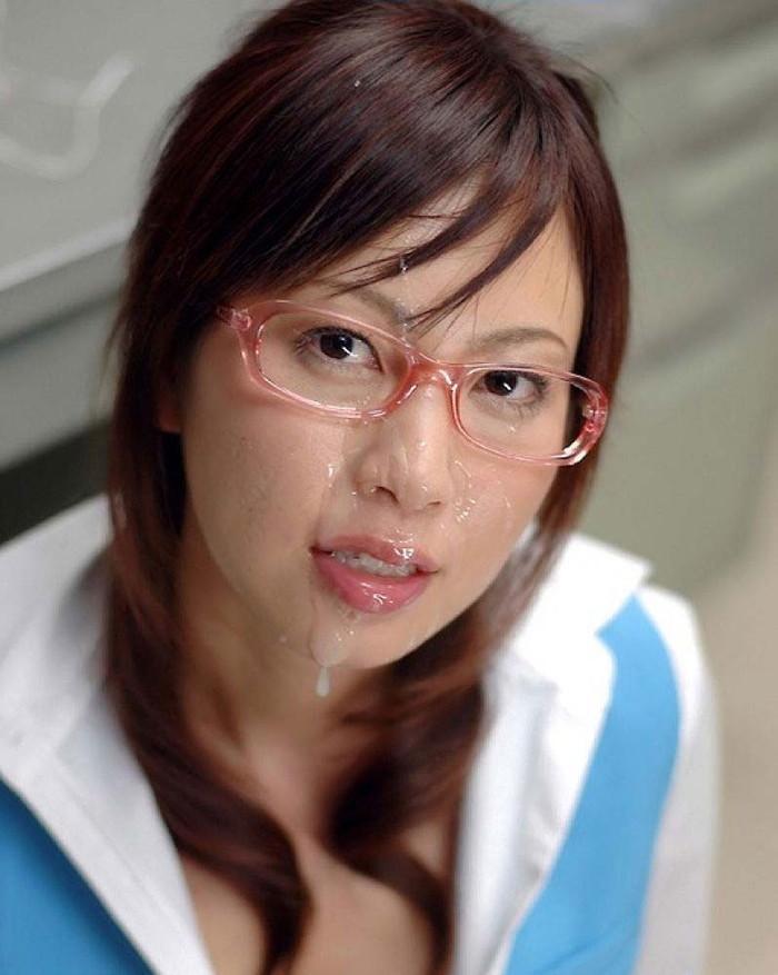 【顔射エロ画像】女の子の顔に濃厚なザーメンぶっかけたるぜ!wwww 06