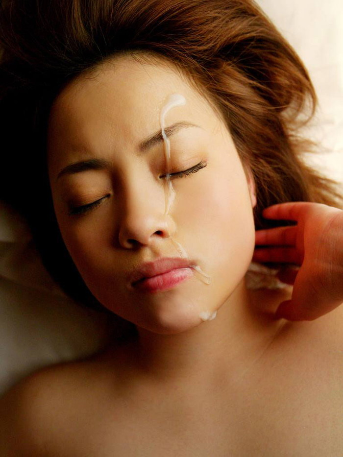 【顔射エロ画像】女の子の顔に濃厚なザーメンぶっかけたるぜ!wwww 23