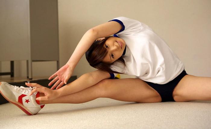 【体操服ブルマエロ画像】体操服っていったらやっぱりブルマだよな!?w 19