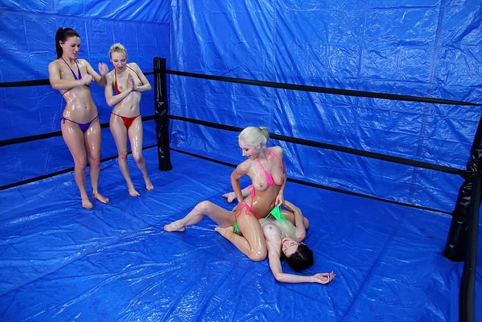 【キャットファィトエロ画像】これは格闘技というよりも女同士の破廉恥ショー!?w 21