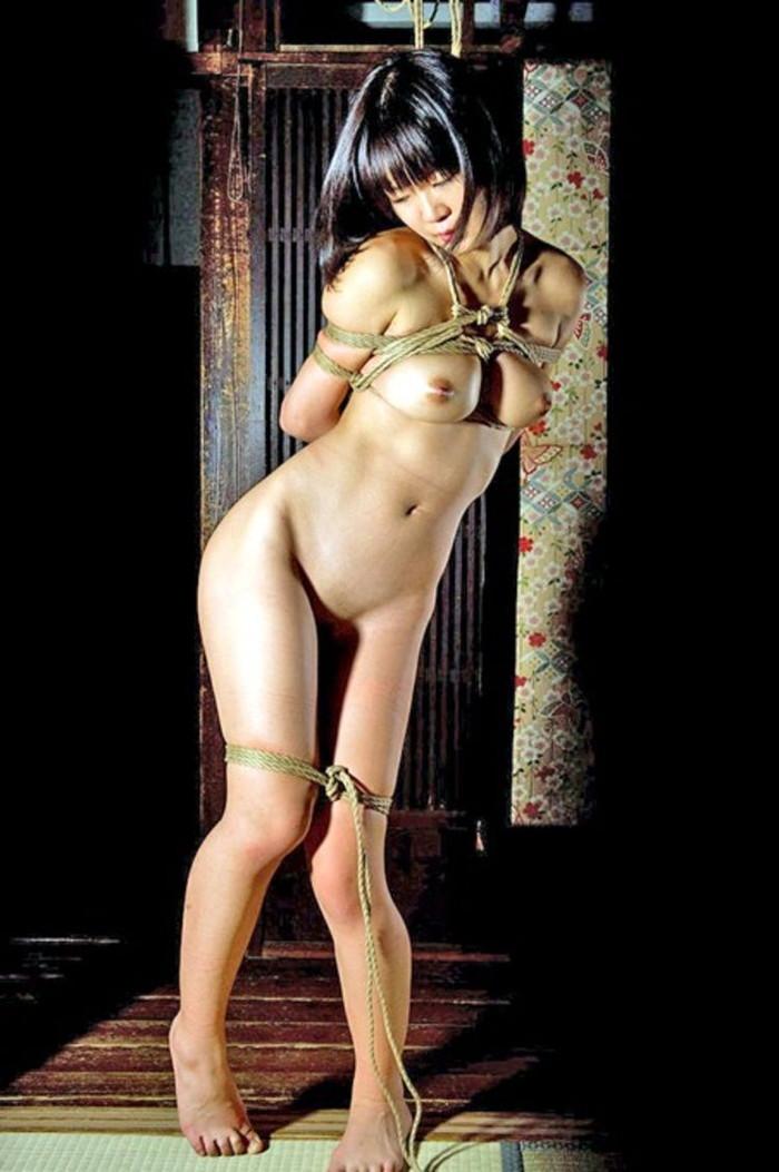 【SM緊縛エロ画像】あられもない姿で緊縛された女たちの姿にフル勃起!? 05