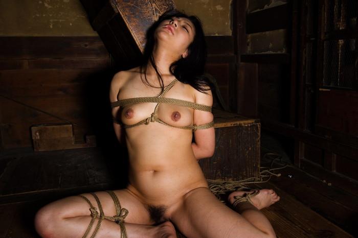 【SM緊縛エロ画像】あられもない姿で緊縛された女たちの姿にフル勃起!? 20