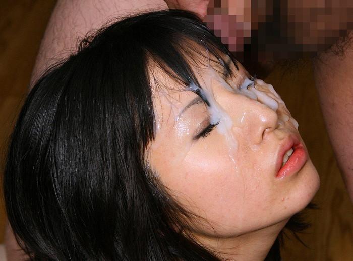【顔射エロ画像】女の子の顔に濃厚な男汁ぶっかけたれや!www 02