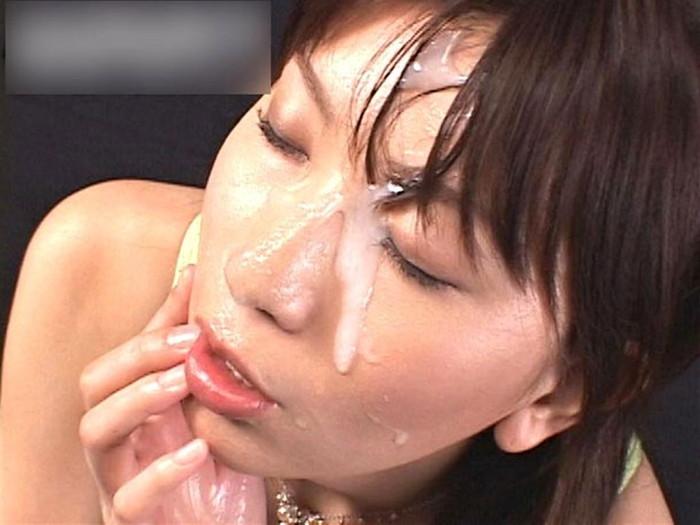 【顔射エロ画像】女の子の顔に濃厚な男汁ぶっかけたれや!www 04