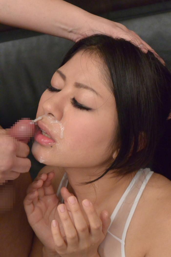 【顔射エロ画像】女の子の顔に濃厚な男汁ぶっかけたれや!www 08