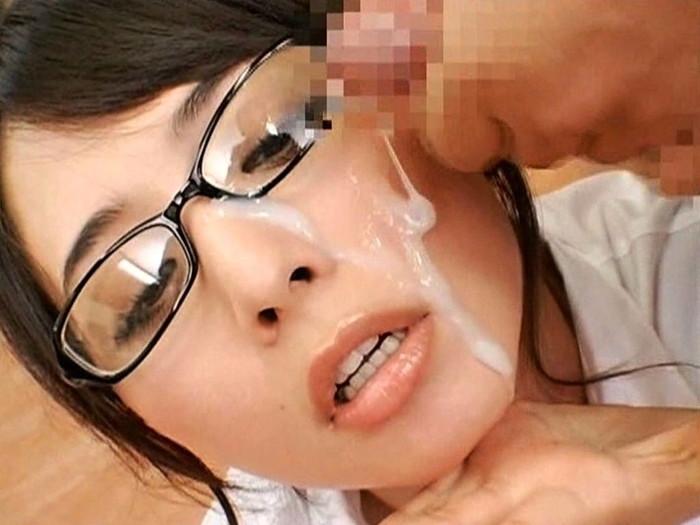 【顔射エロ画像】女の子の顔に濃厚な男汁ぶっかけたれや!www 15