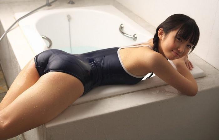 【スク水エロ画像】マニア必見!スクール水着の女の子の画像集めたったww 04