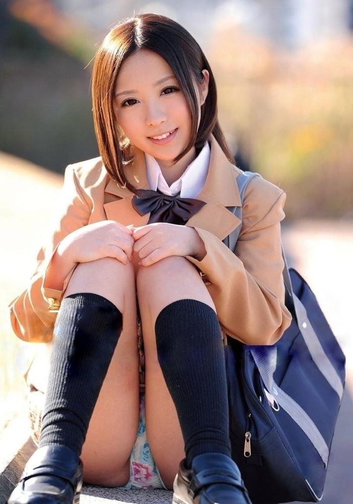 【JK制服コスプレエロ画像】この画像みて興奮するヤツ要注意な!?www 10
