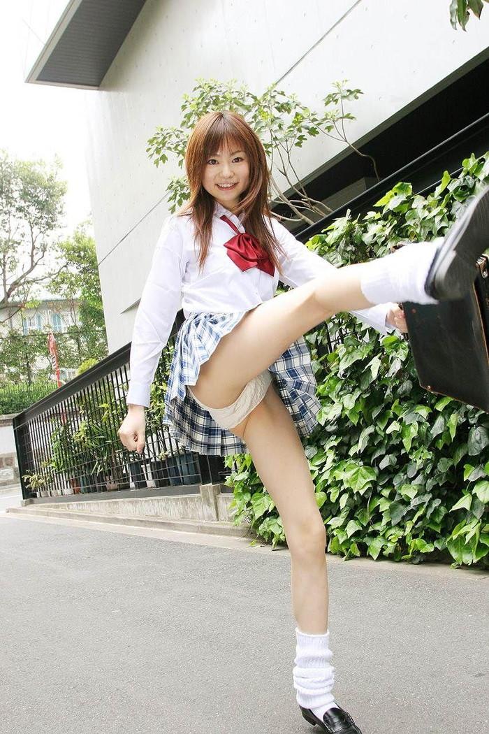 【JK制服コスプレエロ画像】この画像みて興奮するヤツ要注意な!?www 24