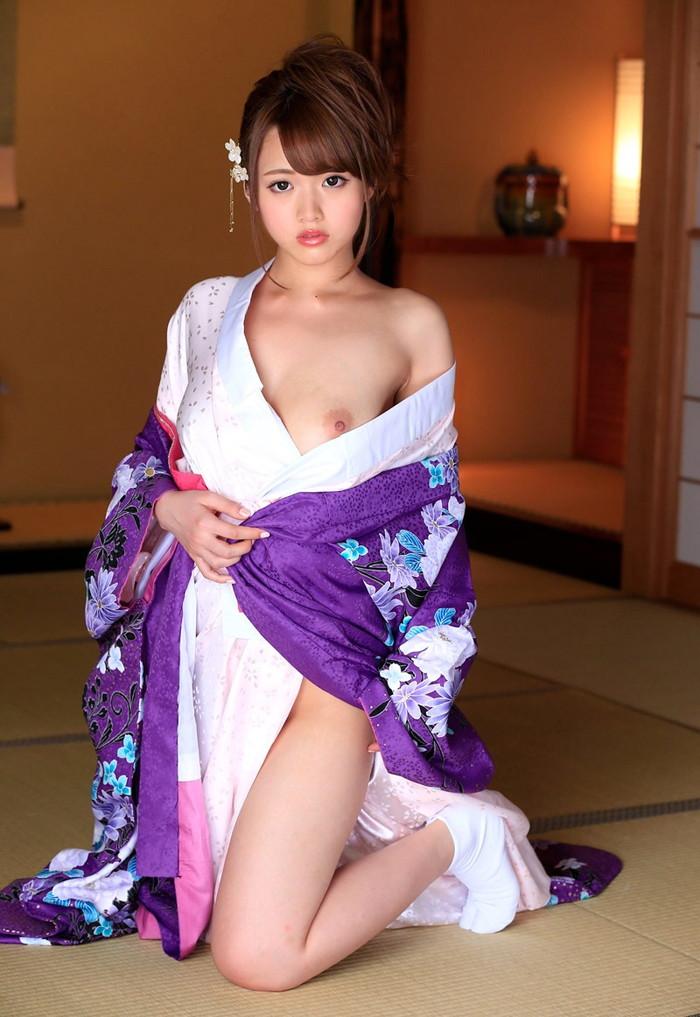 【着物エロ画像】日本人ならやっぱりこういう画像みて興奮するよな!? 21