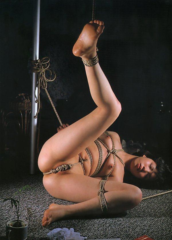 【SM緊縛エロ画像】ロープや拘束具によつて緊縛された女の子たちの艶かしさ! 17