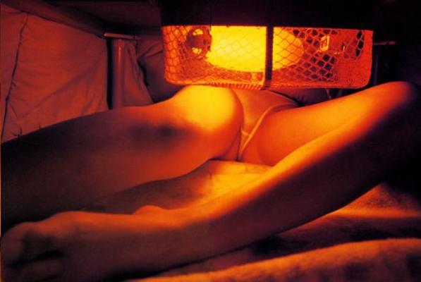 【コタツ内盗撮エロ画像】コタツの中を覗いてみたらめっちゃ凄い光景が!? 13
