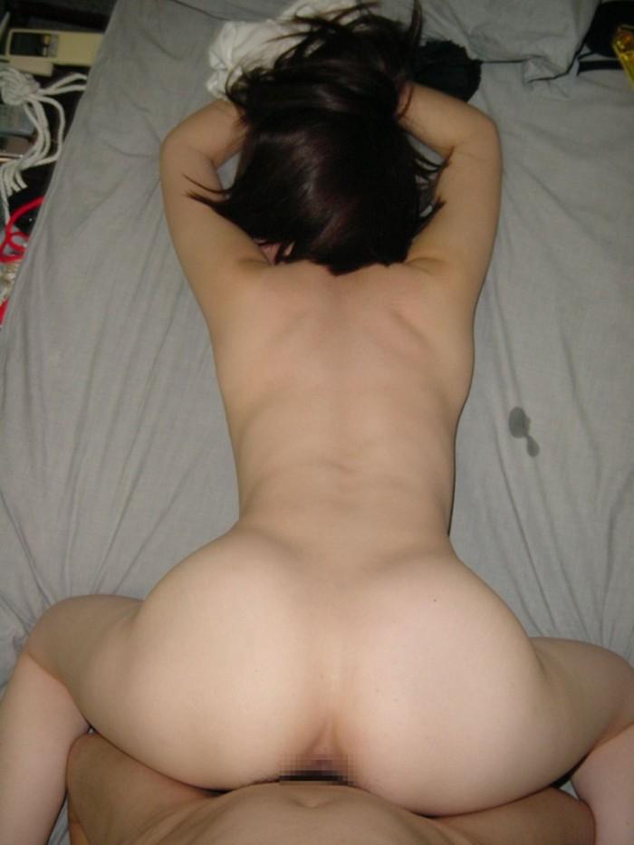 【後背位エロ画像】バックでセックス!後ろから犯す感じが堪らない体位! 26