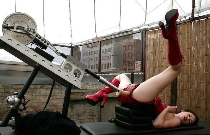 【ファッキングマシーンエロ画像】※衝撃!人間と機械のセックスってこんな感じか!?w 26