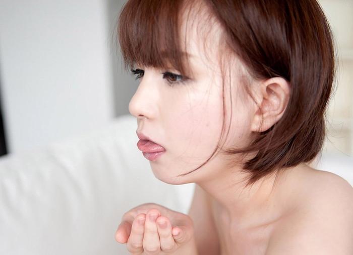 【口内発射エロ画像】口の中からあふれ出した精液が卑猥すぎて草www 13