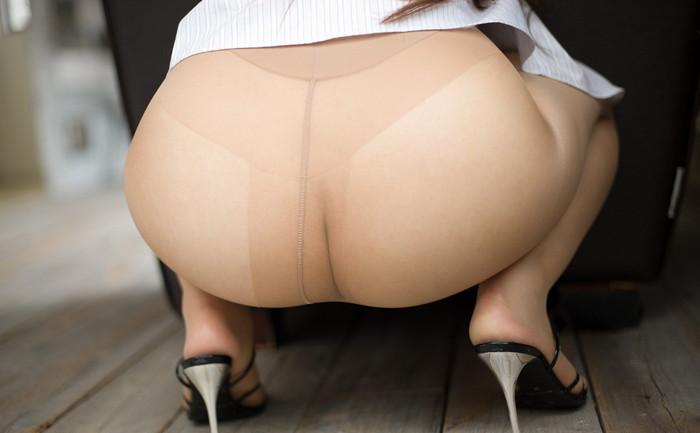 【パンスト直穿きエロ画像】オマンコがスケスケになってる直穿きパンスト!エロッ!w 06