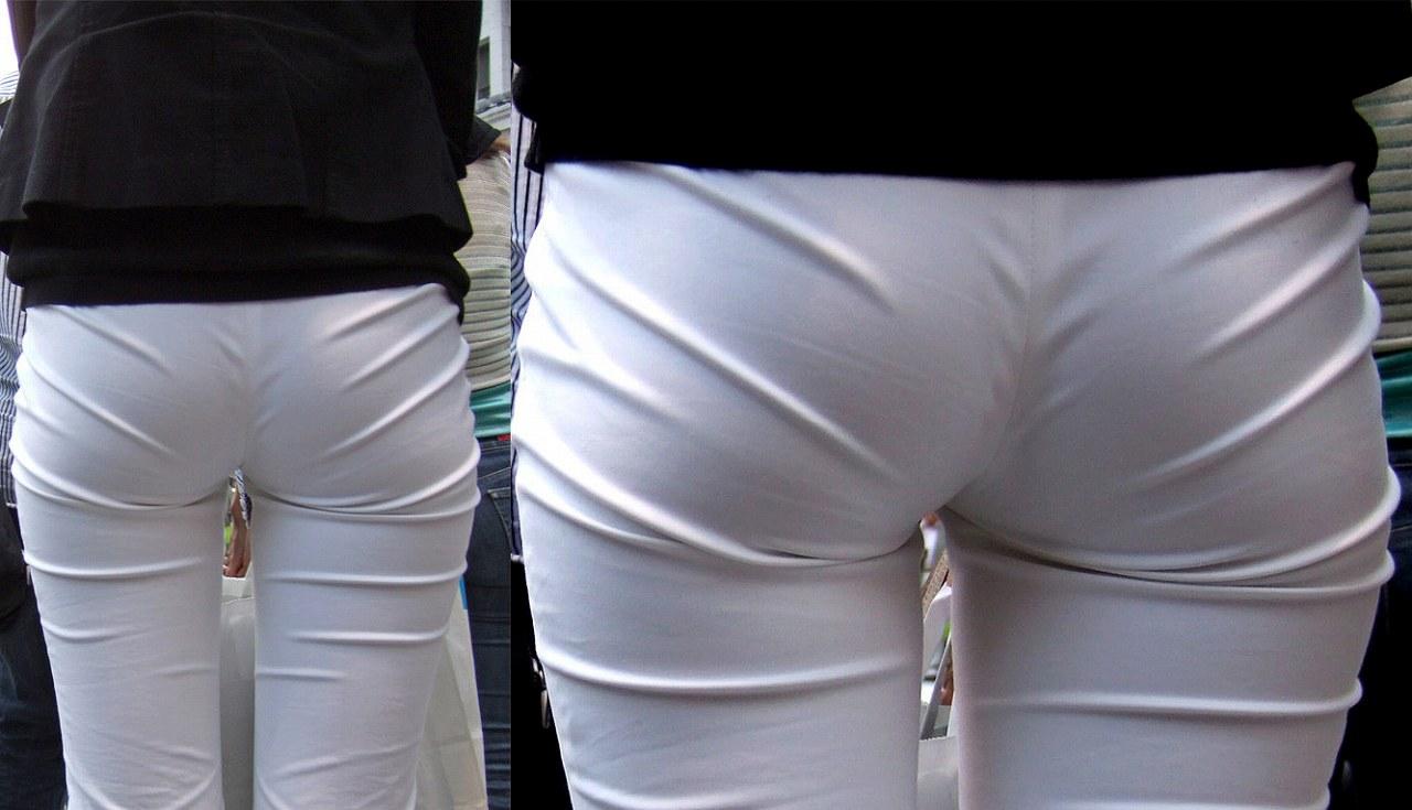 【着衣のお尻エロ画像】ぷりっぷりの着衣のお尻!こんなエロいもの晒されたら堪らん!